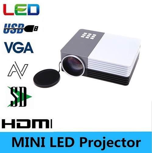 Mini Projetor Data Show 150 Lúmens Full Hd Hdmi Usb Sd 1080p