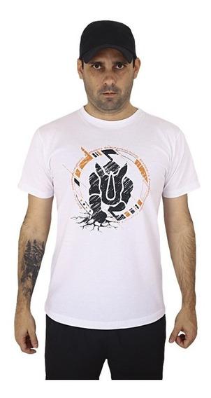 Camiseta Estampada Rhino Race Branca
