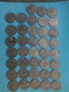 Tengo En Venta 3 Colecciones De 38 Monedas Completas