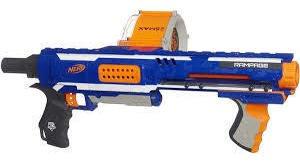 Nerf N-strike Elite Rampage Blaster Pistola De Dardos