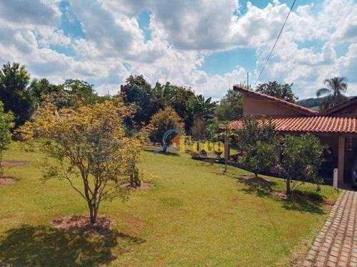 Chácara Com 2 Dormitórios À Venda, 1000 M² Por R$ 371.000,00 - Portal São Marcelo - Bragança Paulista/sp - Ch0217
