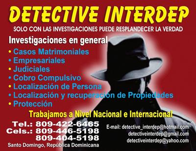 Detective Privado En Santo Domingo.8094465198