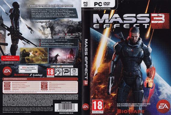 Mass Effect Trilogia Pc (midia Fisica)