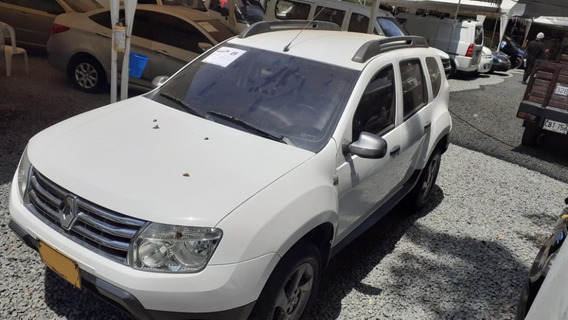 Renault Duster Expression Motor 1.6 2015 Blanco 5 Puertas