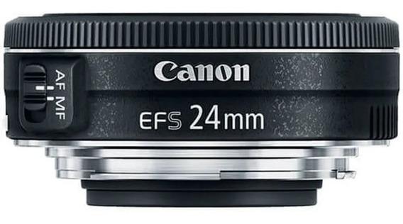Lente Canon Ef-s 24mm F/2.8 Stm Original Garantia 1 Ano Nf-e