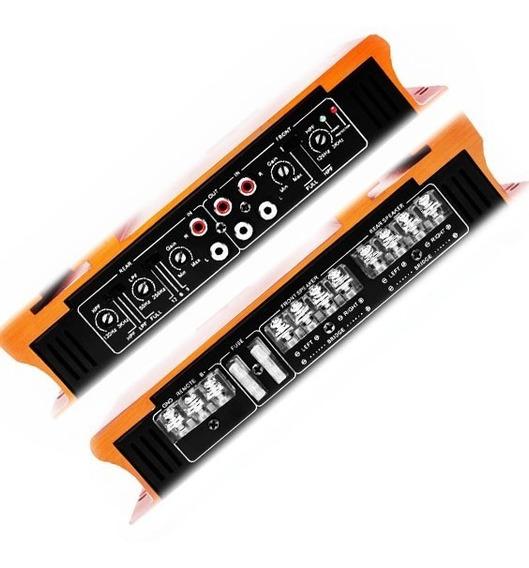 Amplificador Audiobahn 2400w Para Bocinas Y Woofer S E Xaris
