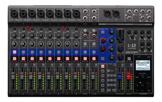Zoom Mixer Livetrak L12