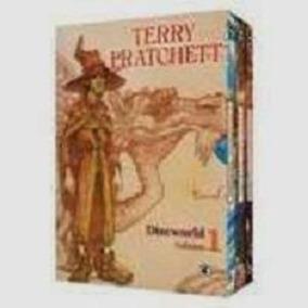 Box Discworld Colecionador 1 - Vol. 1 Ao 3 Terry Pratchett