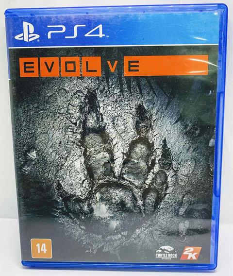 Evolve Ps4 - Alemão Games