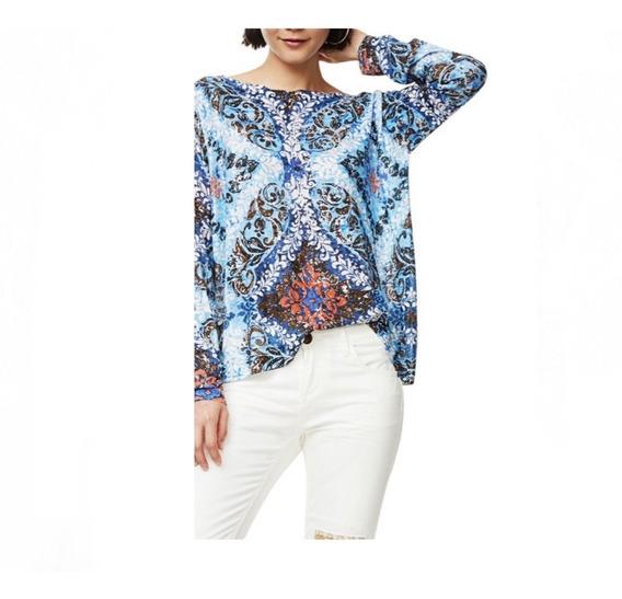 Suéter Desigual Mujer Azul Claro