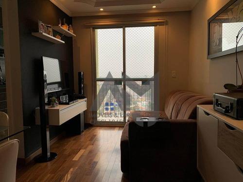 Apartamento Com 2 Dormitórios, Sala, Cozinha, Banheiro, Sacada Com Linda Vista... Tudo Novo - Ap0021