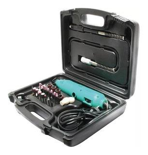 Kit Minitorno + 40 Accesorios Proskit 5501 Mini Torno Tripa