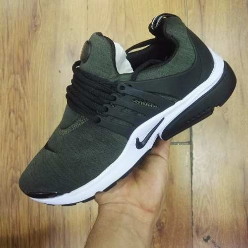 2nike zapatos hombre verdes