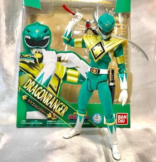 Power Rangers Dragon Ranger Sh Figuarts Bandai