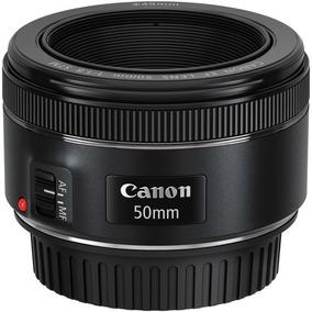 Canon Ef 50mm F/1.8 Stm/lacrada Canon Brasil/envio Imediato