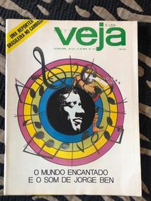 Revista Veja N 90 Jorge Ben Jor Religião Miss Bispo Perfeita