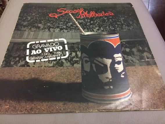 Lp Secos & Molhados 1974 - Vivo No Maracanãzinho (zerado)