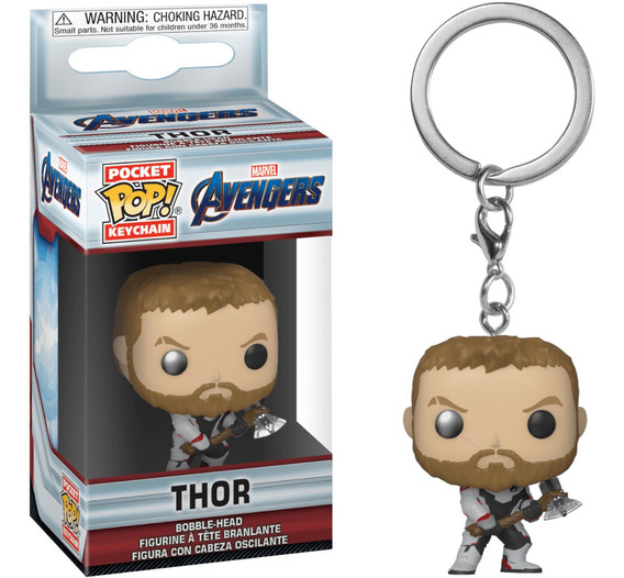 Funko Pop Llavero Thor Avengers Endgame Tienda Marvel
