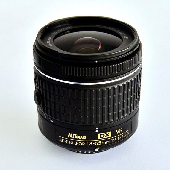Lente Nikon Af-p Dx Nikkor 18-55mm F/3.5-5.6g Vr Nova