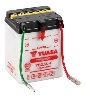 Batería De Moto Yuasa Yb2.5l-c, San Borja.