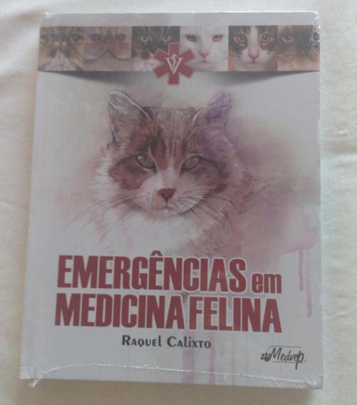 Livro Emergências Em Medicina Felina.