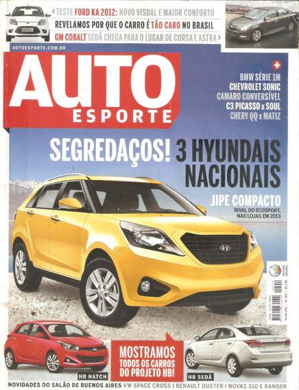 Auto Esporte Nº 554 Julho 2011 Segredo Novos Hyundais