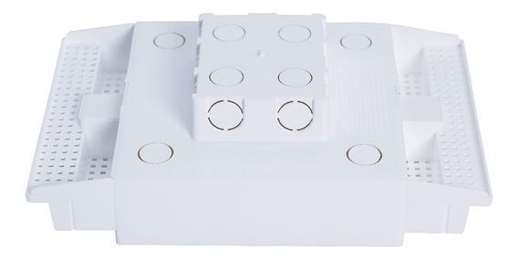 Caixa Embutir Painel Led Na Laje Plasled 18w / 22x22 12 Unid