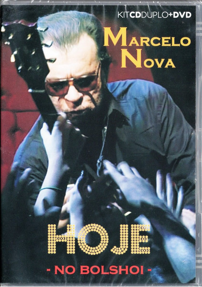 Marcelo Nova Cd Duplo + Dvd Hoje No Bolshoi Frete R$ 11,00