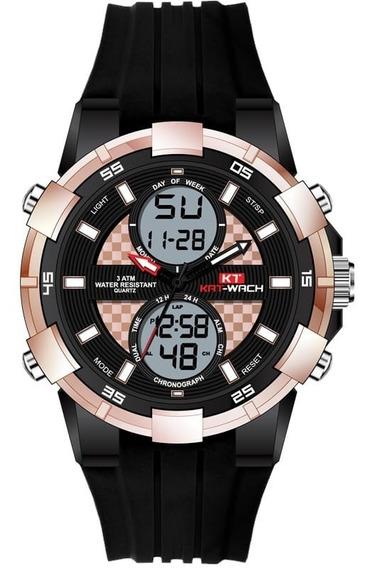 Relógio Kat-wach Moda Relógio Militar Masculino