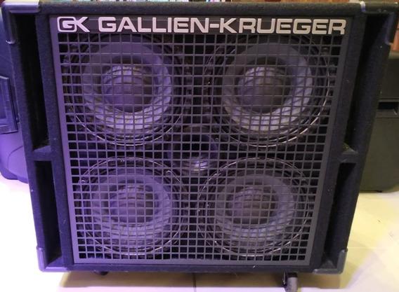 Caixa Acústica Para Baixo Gallien Krueger Rbh410