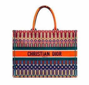 Bolsa Dior Book Tote Bordada Promoção Peça Única Oportunidad
