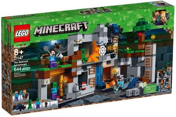 Lego Minecraft The Bedrock Adventures 21147 (644 Pçs)