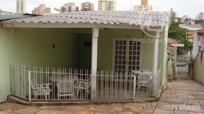 Casa Residencial À Venda, Vila Romana, São Paulo. - Ca0601