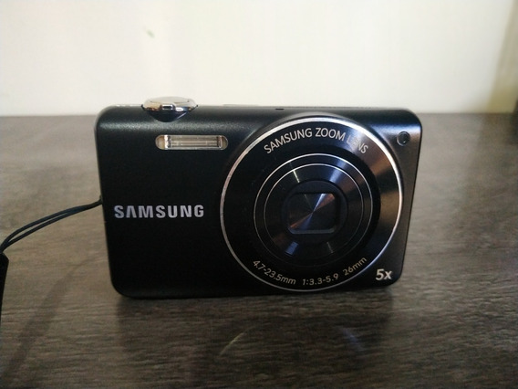 Máquina Câmera Digital Samsung St93 St 93 Preta