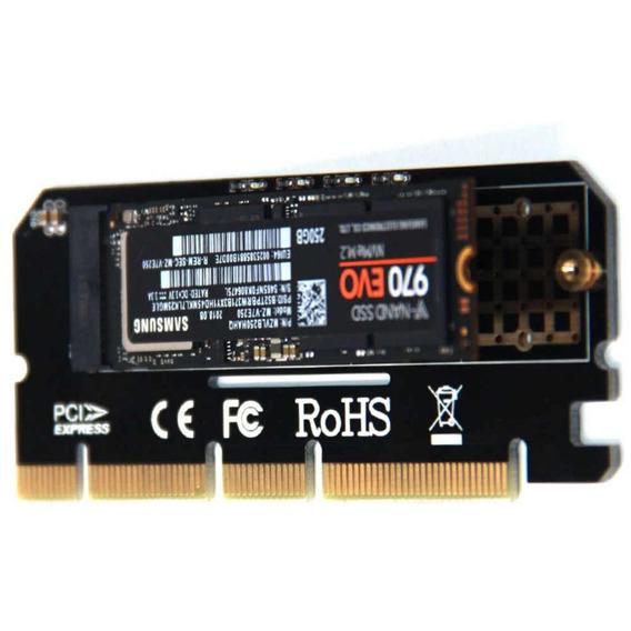 Adaptador Ssd M.2 M2 Nvme Para Pci Express 4x 8x 16x