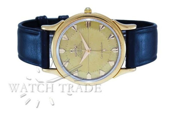 Relógio Omega Constellation Pie Pan Ouro 18k Ref.: 2852/2853