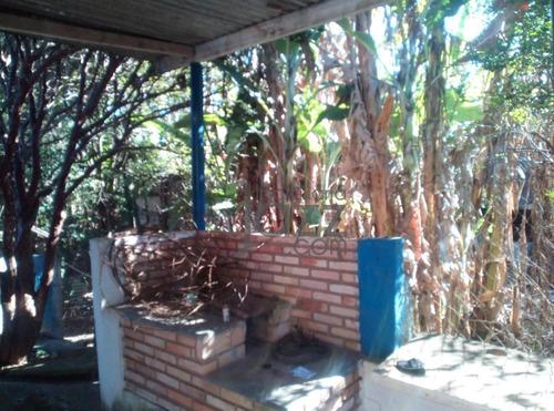 Chácara Com Casa, 2 Dormitórios À Venda, 1000 M² Por R$ 280.000 - Campinas/sp - Ch0291