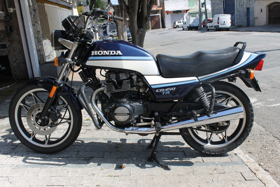 Honda Cb 450 Tr - Único Dono