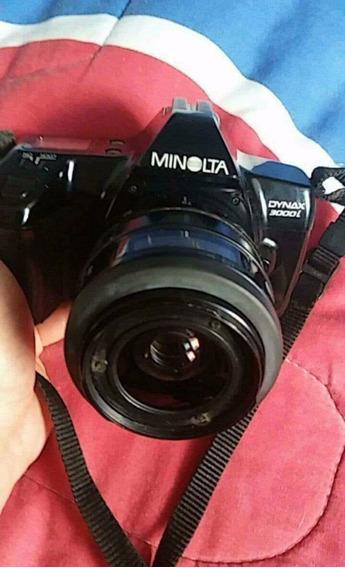 Camara Minolta Dynax 3000i + Maxxum D 314i Flash