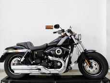 Harley Davidson Dyna Fat Bob Fxdf 2016 Preta