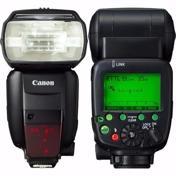 Flash Canon Speedlite 600ex Ii-rt Pronta Entrega S/j