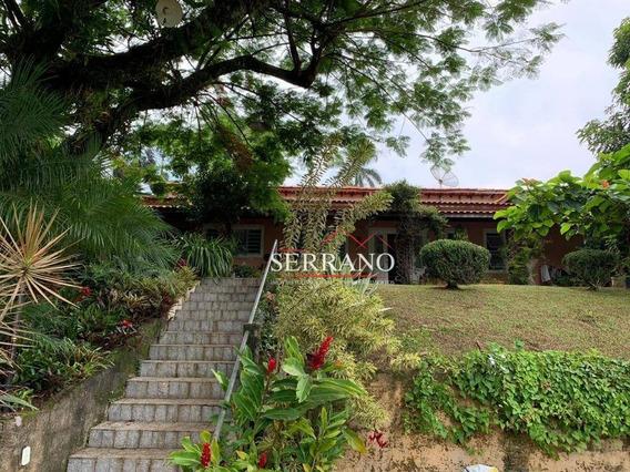 Casa Com 4 Dormitórios À Venda, 295 M² Por R$ 1.200.000,00 - Condomínio Chácaras Do Lago - Vinhedo/sp - Ca0658