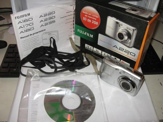 Câmera Digital Fujifilm A400 Pc1080 Defeito Obturador Leranu