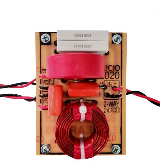 Kit 2 Divisor Frequencia Passivo 2 Vias Titânio 700 Watts