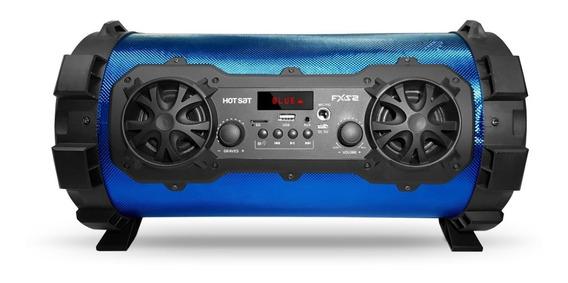 Caixa De Som Hot Sat Bluetooth Portátil Usb 120w Com Bateria