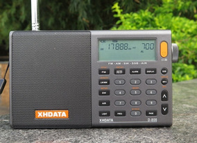 Rádio Xhdata D-808 Am/fm Stéreo/lw/sw/ssb Pronta Entrega