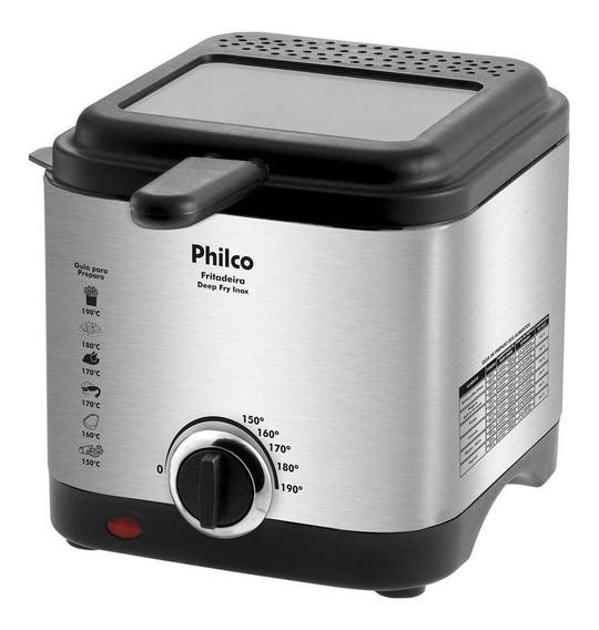 Fritadeira Philco Deep Fry Inox prata 220V