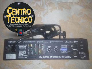 Strobe Dmx American Dj Mega Flash 800w Luz Con Sensor.