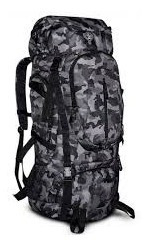 Mochila Camping Trilha 55l Reforçada Clio Melhor Valor