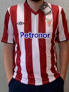 Camisa Do Athletic Bilbao- Original E Com Etiqueta- Rara